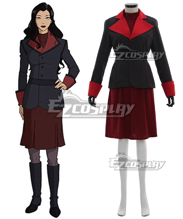 Avatar The Legend of Korra Asami Sato Cosplay Costume