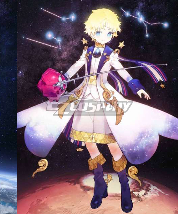 Fate Grand Order FGO Voyager Little Prince Stage 2 Cosplay Costume