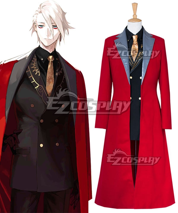 Fate Grand Order Lancer Karna 2nd Anniversary Suit Uniform Cosplay Costume