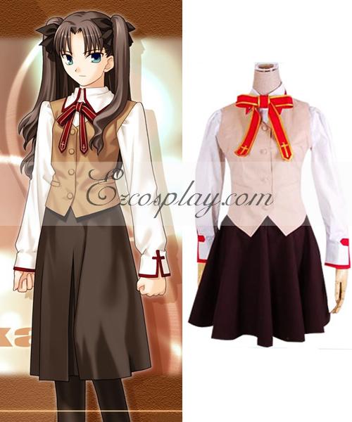 Fate Stay Night Grils' School Uniform Cosplay Costume