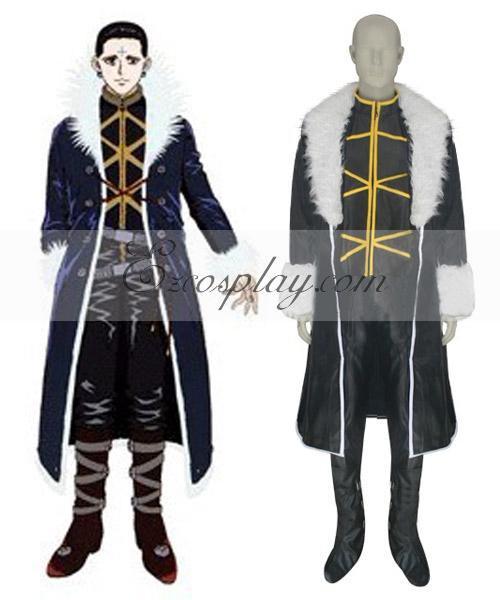 Hunter X Hunter Kuroro Lucifer Cosplay Costume-Size Small