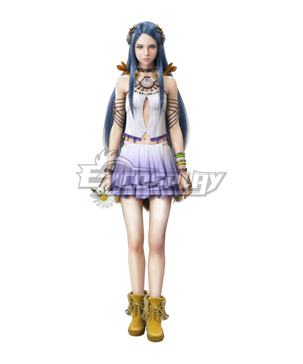 Final Fantasy XIII-2 FF13-2 Paddra Nsu Yeul Cosplay Costume