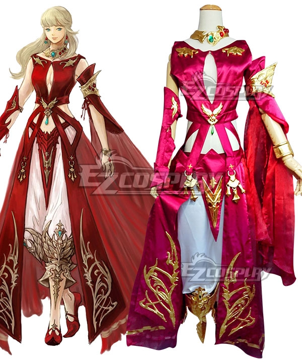 Final Fantasy XIV FF14 Lyse Hext Cosplay Costume