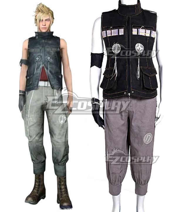 Final Fantasy XV Prompto Argentum Cosplay Costume - B Edition