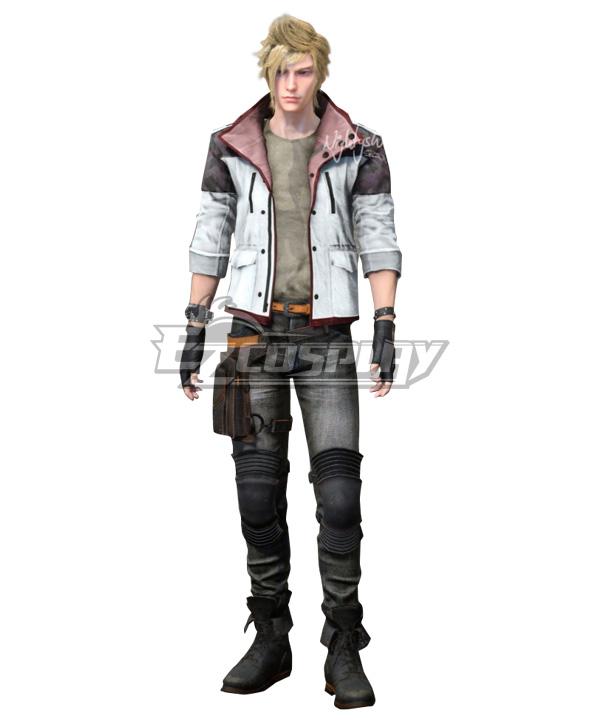 Final Fantasy XV Prompto Argentum Cosplay Costume - New Edition