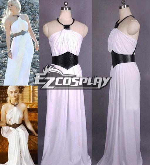 Game of Thrones Daenerys Targaryen PROM Dress Cosplay Costume