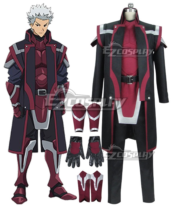 Grimgar of Fantasy and Ash Renji Cosplay Costume