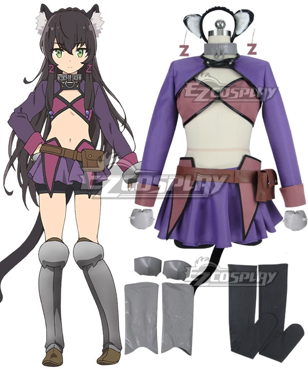 How NOT to Summon a Demon Lord Isekai Maou to Shoukan Shoujo Dorei Majutsu Rem Galleu Cosplay Costume