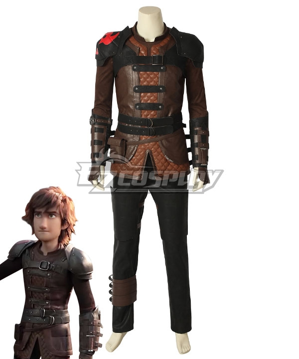 How To Train Your Dragon 3: The Hidden World Hiccup Cosplay Costume