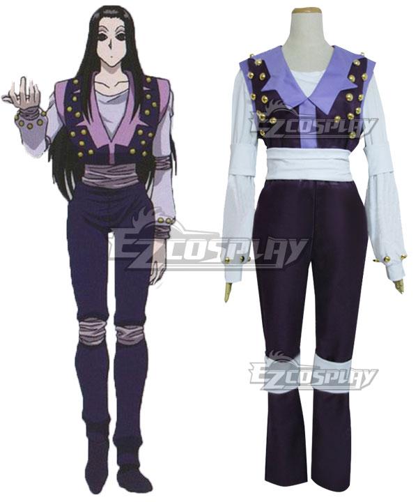 Hunter X Hunter Illumi Zoldyck Purple Cosplay Costume