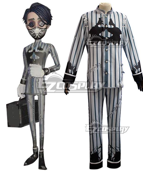 Identity V Embalmer Aesop Carl Rorschach Physician Halloween Cosplay Costume