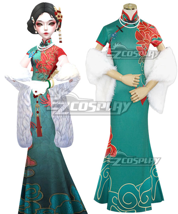 Identity V Geisha Michiko Lady Thirteen Halloween Cosplay Costume
