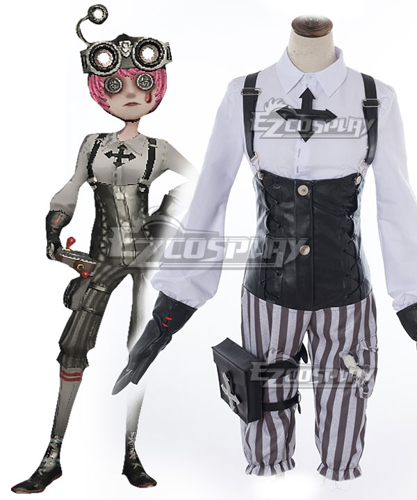 Identity V Mechanic Tracy Reznik Gothic Halloween Cosplay Costume