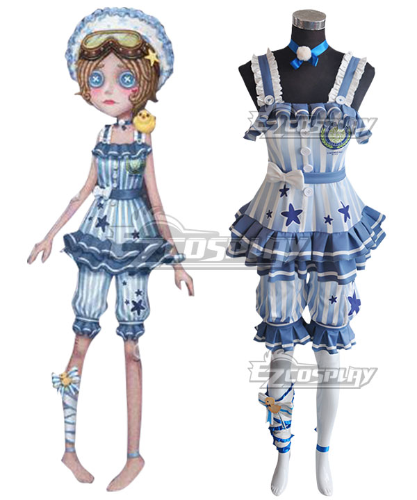 Identity V Mechanic Tracy Reznik Re-swim Halloween Cosplay Costume