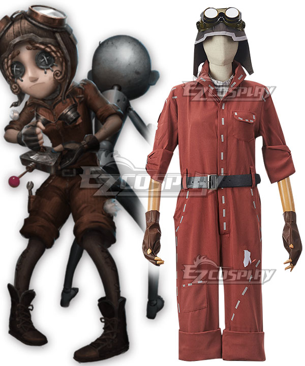 Identity V Mechanic Tracy Reznik Tracy Reznik Halloween Cosplay Costume