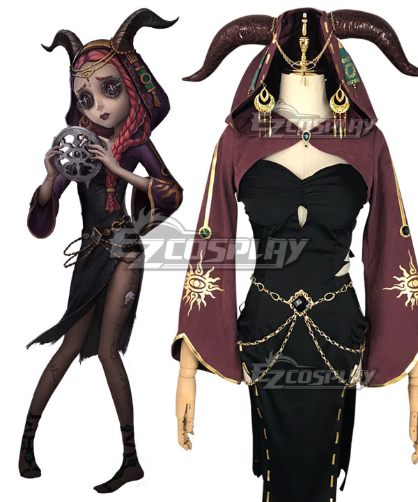 Identity V Priestess Fiona Gilman Halloween Cosplay Costume