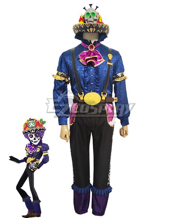 Identity V Prospector Norton Campbell Soul Catcher Halloween Cosplay Costume