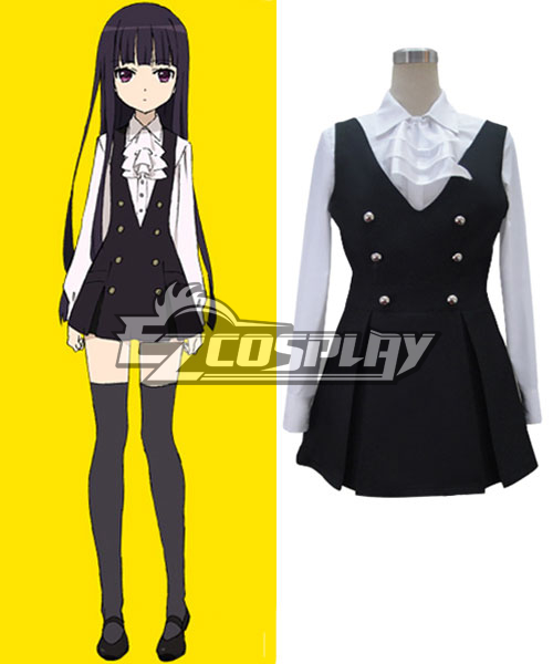 Inu x Boku SS Ririchiyo Shirakiin Uniform Cosplay Costume - A Edition