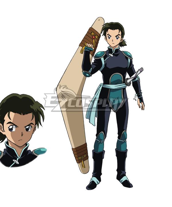 Inuyasha Yashahime : Princess Half-Demon Hisui Cosplay Costume