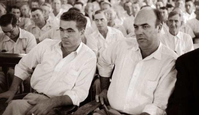 Roy Bryant and John Milam
