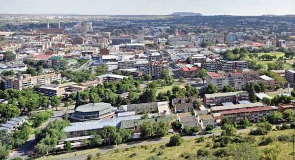 South African capital Pretoria