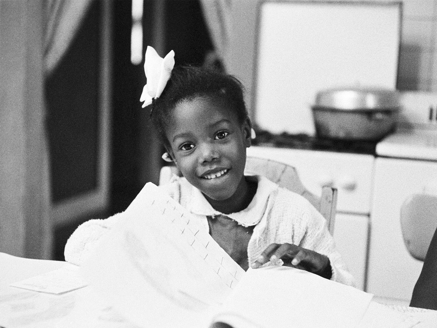 Ruby Bridges Became The First Black Child To Attend An All