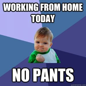 Friday Funny Are We Ready To Work From Home