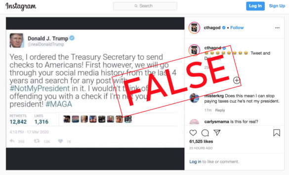 Instagram Fact Check Can A New Flagging Tool Stop Fake News