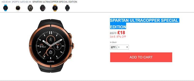 Suuntoshop.online Fake Shop Watches