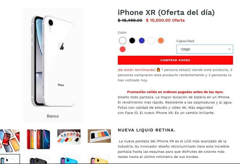 Californiapremiumrs.com Tienda Falsa Online Iphone Xr