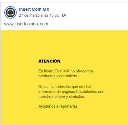 Insertcoinmx Hacked