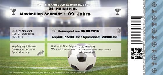 Fußball Party Zum Kindergeburtstag Familiede