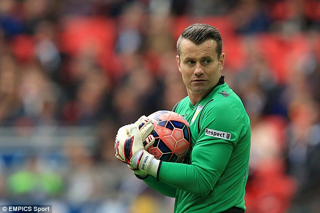 Shay Given Signed for Stoke from Aston Villa