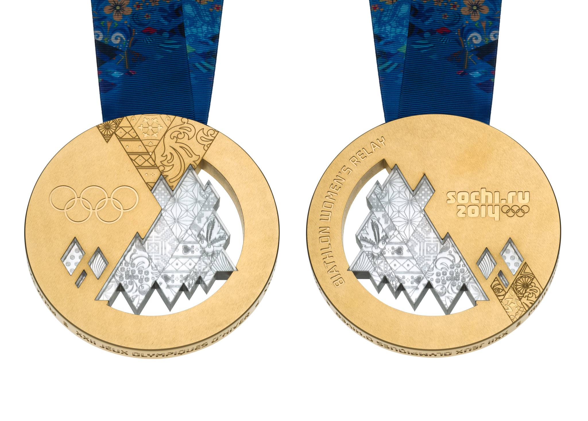 Winter Olympics Sochi Gold Medals Unveiled Photo