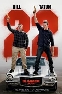 Poster for 2014 comedy sequel 22 Jump Street