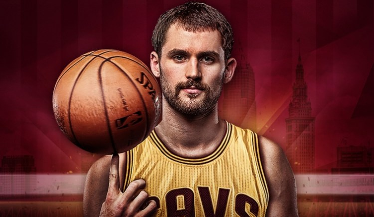 Kevin Love Officially a Cleveland Cavalier