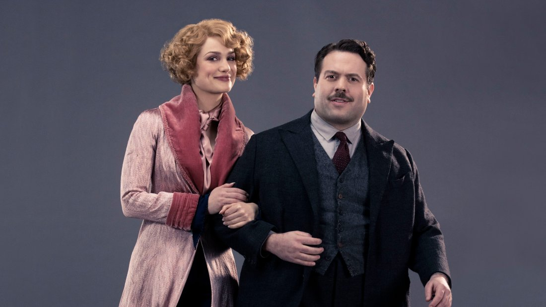 Image result for fantastic beasts jacob and queenie