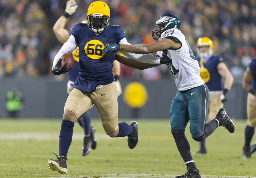 Julius Peppers of the Green Bay Packers