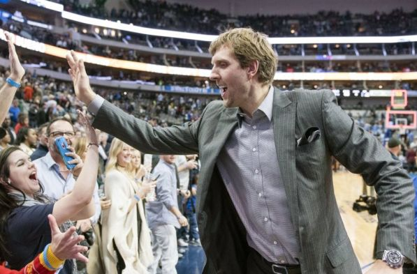 Image result for dirk nowitzki street clothes