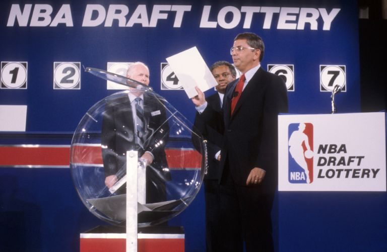 Most Shocking NBA Lottery Shakeups Of All Time