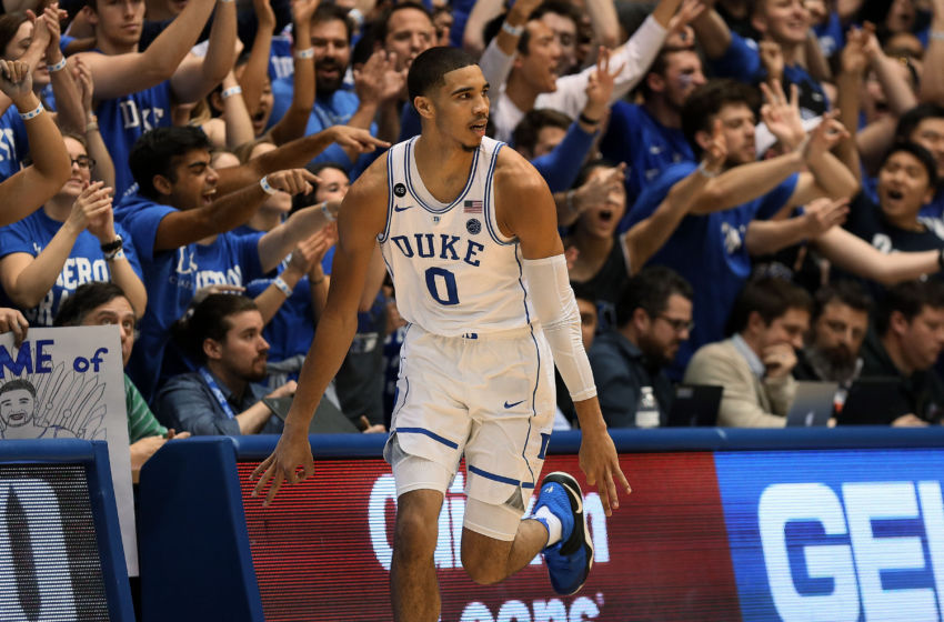 Jayson Tatum Named Finalist For Prestigious NCAA Award