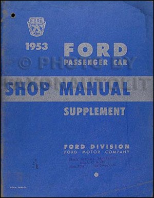 The Nifty Fifties Ford; 19461959 Yearbyyear History