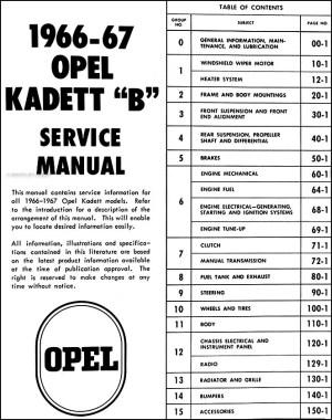 19661967 Opel Kadett