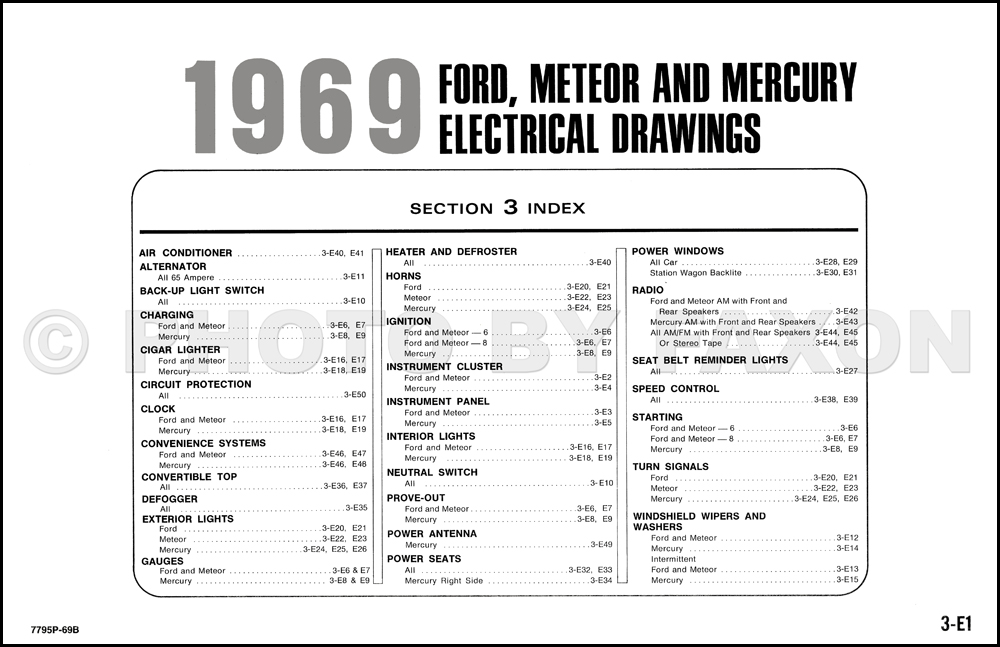 1969FordMercuryOWD TOC?resize\=665%2C430 ford galaxie 500 wiring diagrams wiring diagrams Boss 612Ua Wiring Diagram at soozxer.org