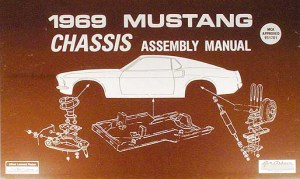 19691970 Ford Mustang Exploded View Parts Illustration