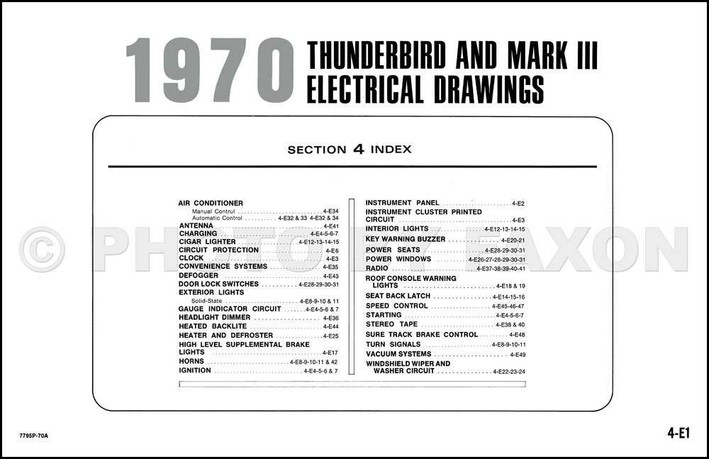1970FordThunderbirdOWD TOC clark np 30 forklift wiring diagram wiring wiring diagram schematic  at gsmportal.co