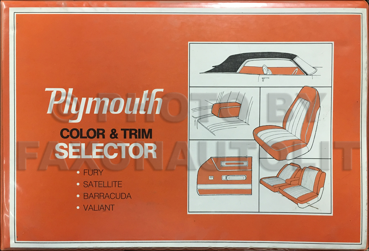 1971 Plymouth Duster, Scamp, & Valiant Wiring Diagram