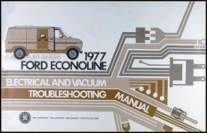 1977 Ford Truck Service Specifications Manual Original