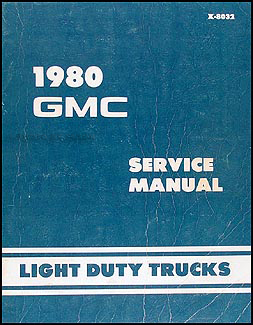 1980 Chevy GMC Forward Control Wiring Diagram Original