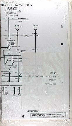 1984 Jeep Cherokee & Wagoneer Original Wiring Diagram